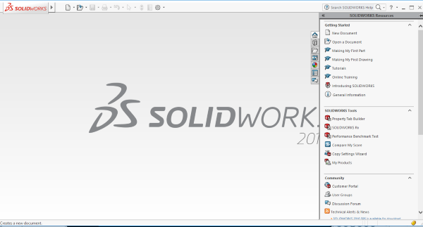1 solidworks interface