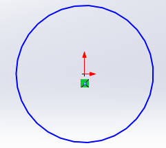 1 solidworks circle
