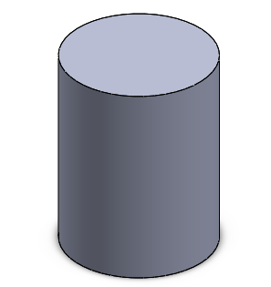 1 solidworks shell cylinder