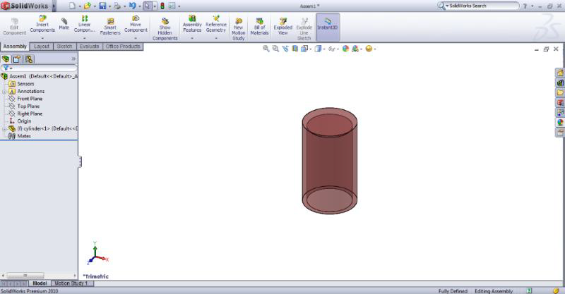 25 106 solidworks motion study tutorial assembly