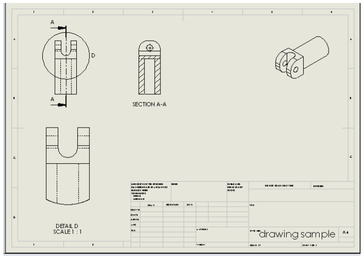 15 107 solidworks drawing tutorial detail view