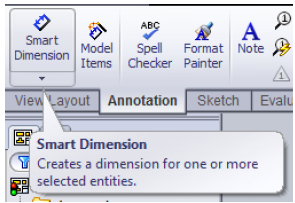 16 107 solidworks drawing tutorial smart dimension