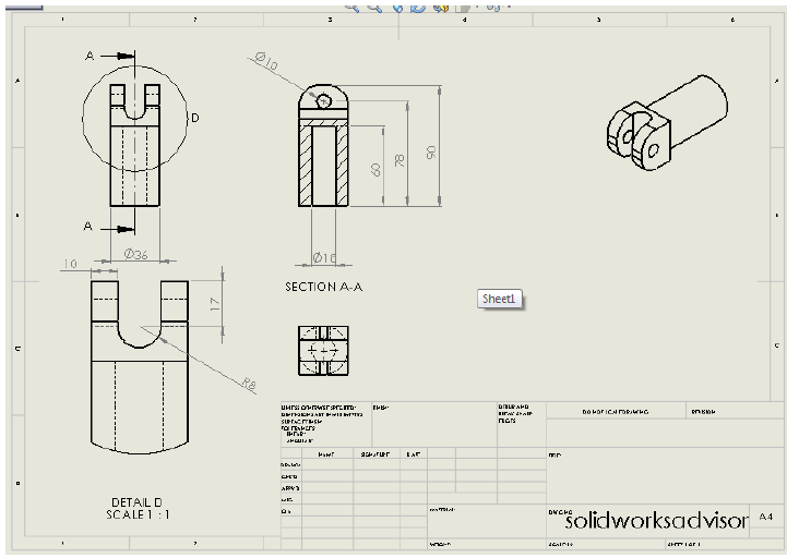 21 107 solidworks drawing tutorial views