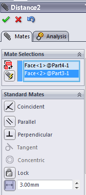 82 109 solidworks assembly tutorial distance mate