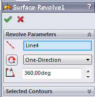 25 114 solidworks surface tutorial surface revolve