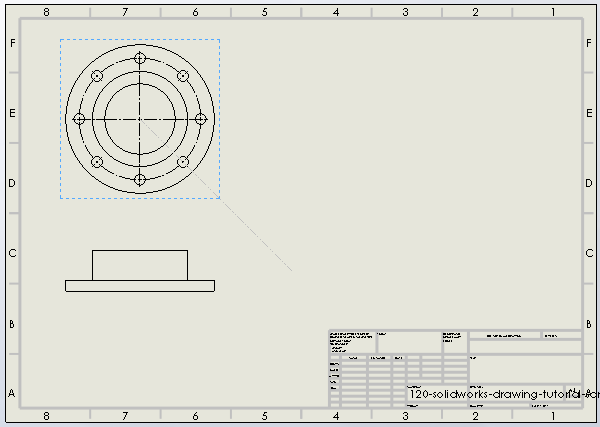 120 solidworks drawing tutorial 5