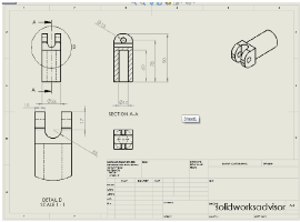 107 solidworks drawing tutorial part